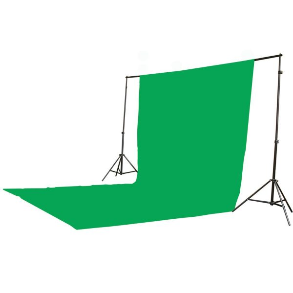 2400 Watt Continuous Video Photography Studio Chromakey Green Screen Lighting Kit H9004S3-1020G-1495