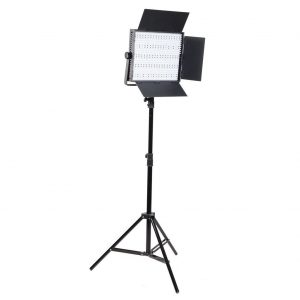 2 x 1200 LED Video Lite Panel Dimmable Photo Studio Video Lighting LED Panels & Stands-1530
