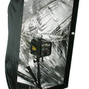 """Photography Umbrella type Softbox 24"""" x 36"""" with Grid for Canon Nikon or Alien Bees 6090GD -1272"""