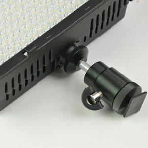 Adjustable Swivel Hot Shoe Mount 1/4-Inch Shoe adapter adjustable angle for Flash, LED light, Camera, Monitor FT9710-1257