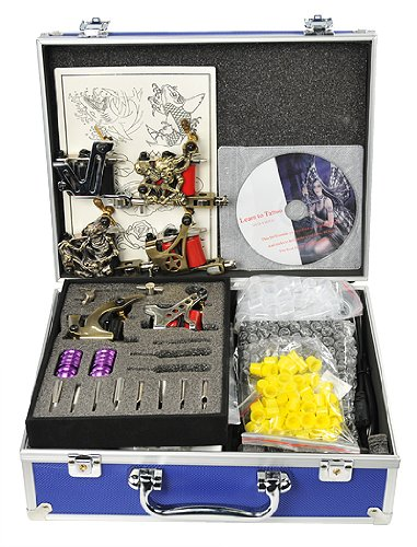 6 Gun Tattoo Machine Kit Tattoo Gun Kit By Fancier A02-0