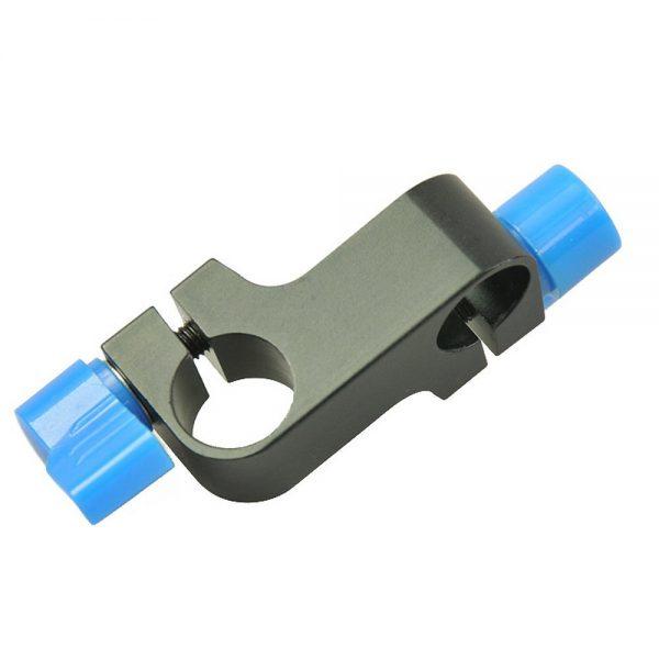 90 Degree 15mm Rod Connector Adaptor for DSLR Shoulder Rig 90Connector-1221