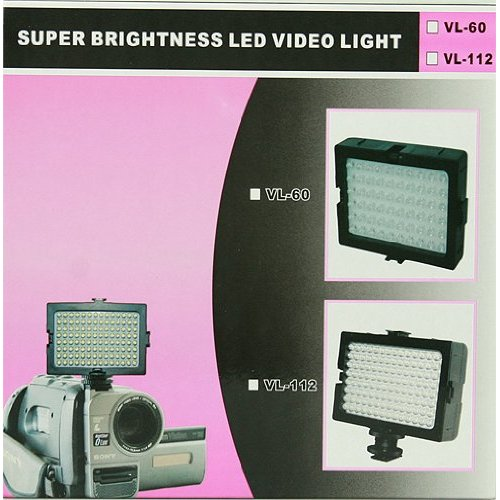 112 LED light Panel LED Camera Light LED Camcorder Light Led Video lighting Dimmable Led Lite Panel CN112-889
