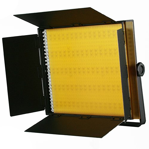 2 x 600 LED Photo Video Light Lighting Video Panel Light Stand Kit-1570