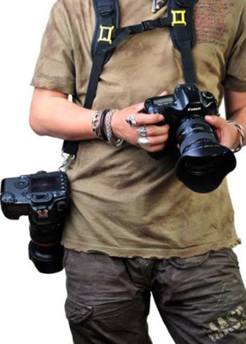 Double Digital DSLR CAMERA Quick Rapid Speed Camera Sling Strap Qucik Release Camera Neck Strap Strap2 -1409