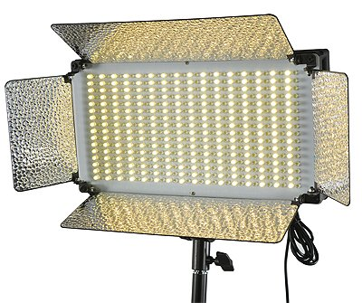 500 LED Light Panel V Mount Bi Color Led Light Panel Led Video Light Video Lighting By Fancierstudio FL500BI-0
