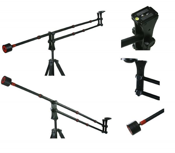 Portable DSLR Mini Jib Crane Video Camera Jib Video Jib Arm extention 4FT MJ-906JIB -0