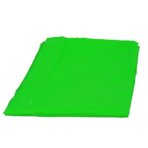 Support System Kit With 6ft x 9ft Chromakey Green Muslin Backdrop 9115+6x9G-424