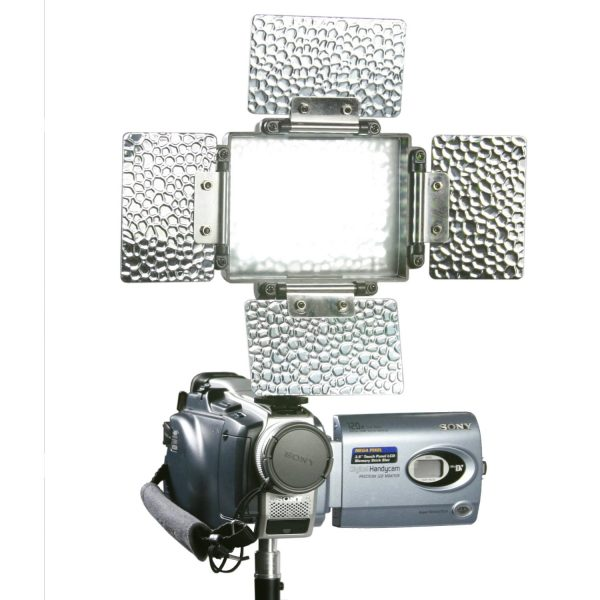 Led Light Panel Rechargable Battery 70 Ultra Bright Camera Video Dv Camcorder Light Lighting Hotshoe Mount Camcorder Video Light - 5600k DV70-891