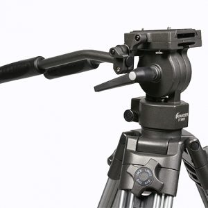 Professional 75mm Video Camera Tripod with Fluid Drag Head FT9901-96