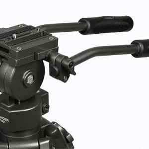 Professional 75mm Video Camera Tripod with Fluid Drag Head FT9901-99