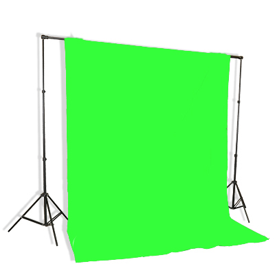 Fancierstudio Lighting Kit 3 Point Lighting Kit With Three 6'x9' Muslin Backdrop And Background Stand By Fancierstudio FH4046-586