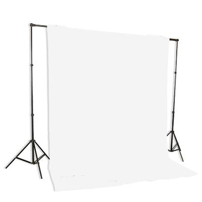 white muslin backdrop