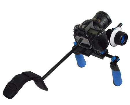 Camcorder Steady Shoulder Rig Follow Focus DSLR Video Cam Camera RL02FRSET-333