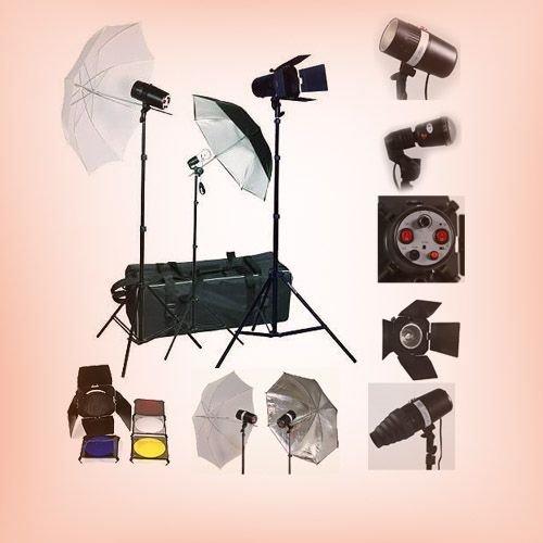 strobe flash lighting kit