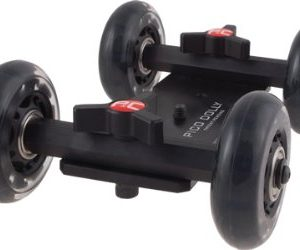 Pico Flex Skater Dolly DSLR Camera Floor Table Dolly Video Slider Track & Case by Fancierstudio PICODOLLY-0