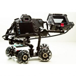 Pico Flex Dolly Kit Digital DSLR Skater Camera Dolly Slider Table Top Dolly Kit by Fancierstudio PICOKIT-0