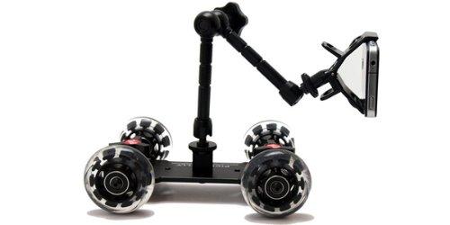 Pico Flex Dolly Kit Digital DSLR Skater Camera Dolly Slider Table Top Dolly Kit by Fancierstudio PICOKIT-597
