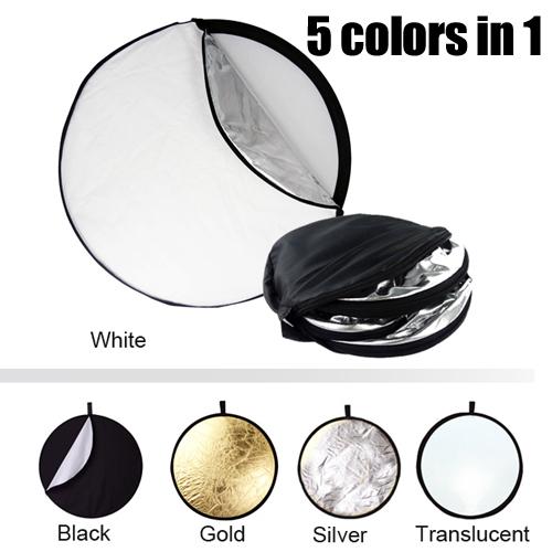 silver gold reflector
