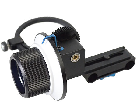 DSLR Shoulder Support Steady Rig 15MM Mount Follow Focus RL02F-366