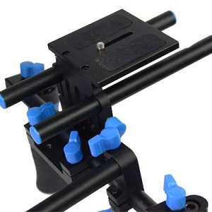 DSLR Rig Shoulder Mount Rod Support Rail System RL02R-550
