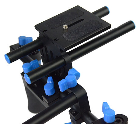 DSLR Rig Shoulder Mount Rod Support Rail System RL02R-550