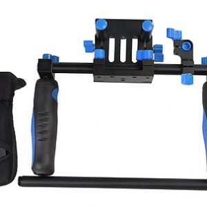 DSLR Rig Shoulder Mount Rod Support Rail System RL02R-549