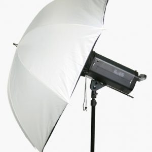 white brolly softbox